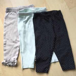 Other - 3 Pairs of Baby Girl Leggings